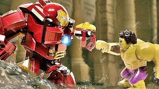 LEGO Hulkbuster VS Hulk Boss Fight Battle Marvel Avengers Age of Ultron