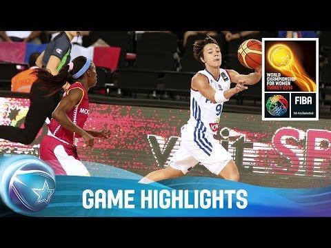 France v Mozambique - Game Highlights - Group B - 2014 FIBA World Championship for Women