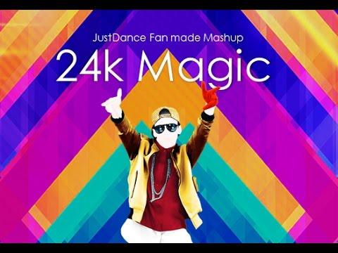 24k Magic | Juast Dance Fan Made Mashup