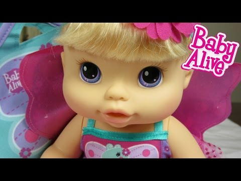 Baby Alive Twinkle Fairy Doll Unboxing!  Kohl's Exclusive Baby Alive!  By Baby Alive Channel