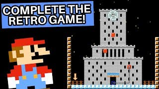 An Amazing Multi Level Game within a Game in Super Mario Maker 2