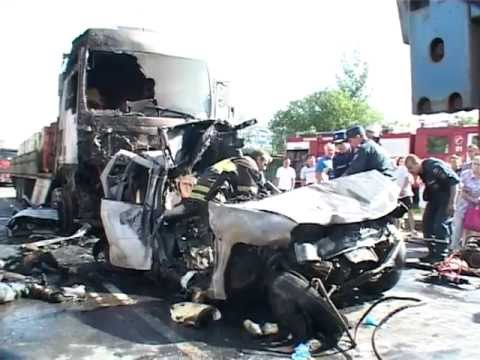 Страшная авария в Ликино