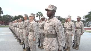Marine Corps Boot Camp - Close Order Drill