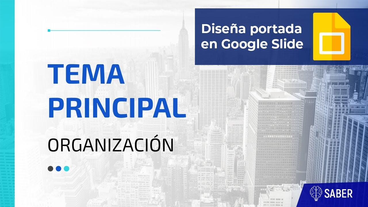 Portada de presentación elegante en Google Slide | Elegant  Cover page in Google Slide