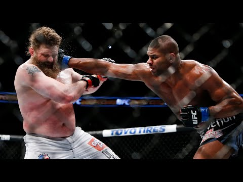 ROY NELSON Vs ALISTAIR OVEREEM HL