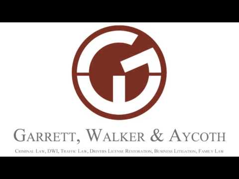 www.garrettandwalker.com Garrett, Walker and Aycoth, PLLC is a law firm serving Greensboro, High Point and Randolph County. This firm focuses on the areas of Criminal Defense, Traffic Law, Drivers License Restoration,...