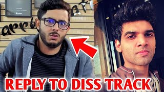 CarryMinati Reply To Salil Jamdar Diss Track | Reaction Bye PewDiePie | Abby Viral, Harsh Beniwal |
