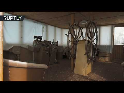 RAW: Luxurious 'Stalin's yacht' from 1930s shot from inside