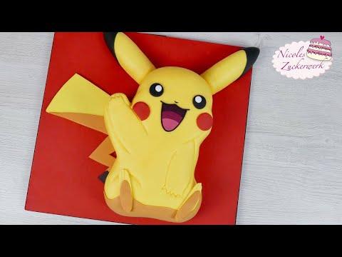 Pokemon Pikachu Torte I Motivtorte Mit Tollem Gewinnspiel I Von