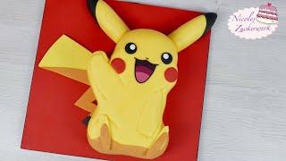 POKÉMON Pikachu Torte I Motivtorte mit tollem GEWINNSPIEL I von Nicoles Zuckerwerk