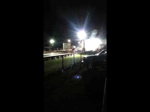 Lori 02 Camaro vs Chevy Truck @Paris Drag Strip Travel Video