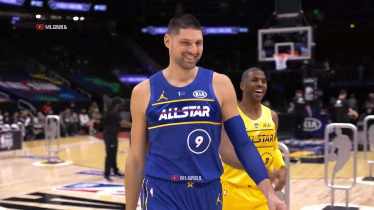 Chris Paul vs Nikola Vucevic 2021 NBA Skills Challenge