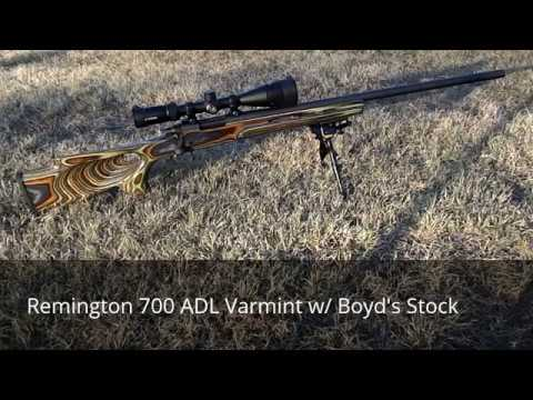 Remington 700 ADL Varmint 22-250 at 300 Yards
