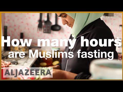 Ramadan in Iceland and New Zealand