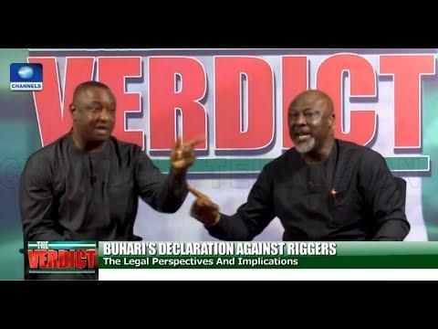 [FULL VIDEO] Melaye, Keyamo In Heated Debate Over Buhari's Order On Ballot-Snatching