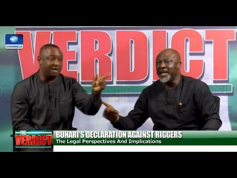 [FULL VIDEO] Melaye, Keyamo In Heated Debate Over Buhari's Order On Ballot-Snatching