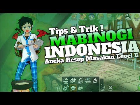 Resep Masakan Mabinogi Level E Mabinogi Indonesia Youtube