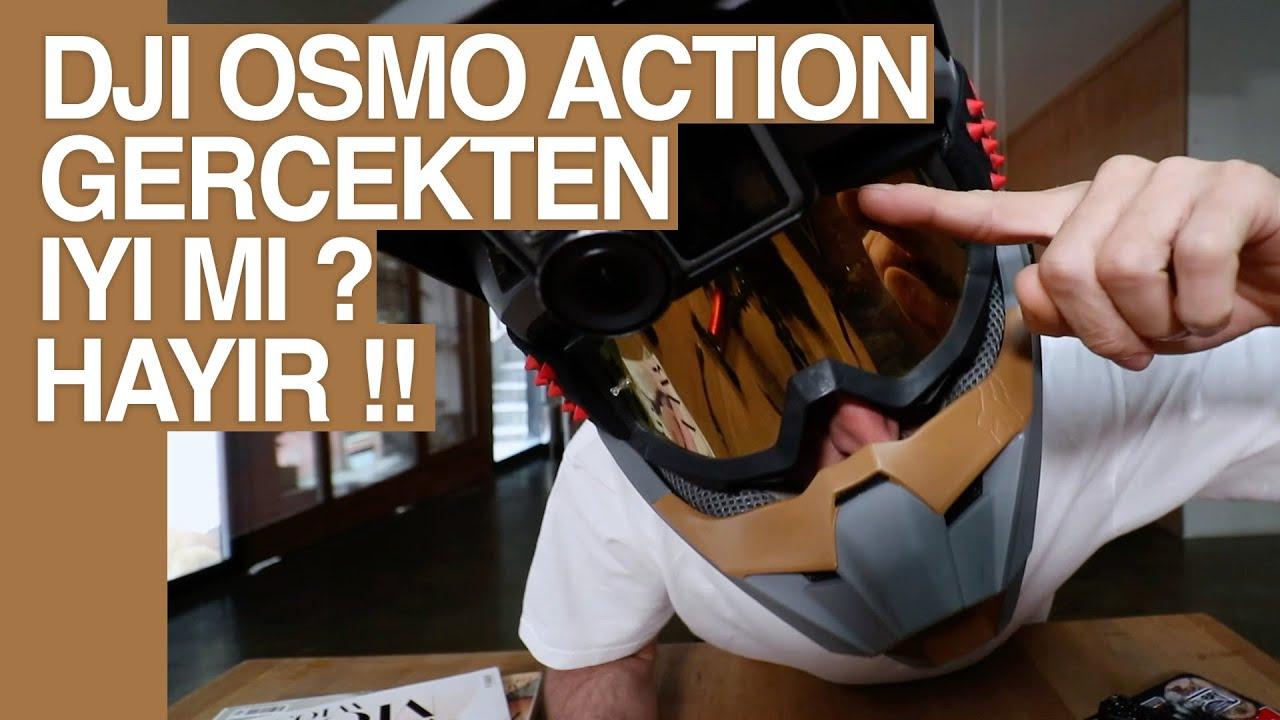 EN İYİ AKSİYON KAMERASI BU MU? DJI Osmo Action Uzun Kullanım Testi