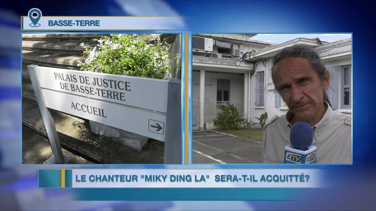 ccusé d'avoir tiré sur les forces de l'ordre en 2013, le chanteur Miky Ding La est jugé en