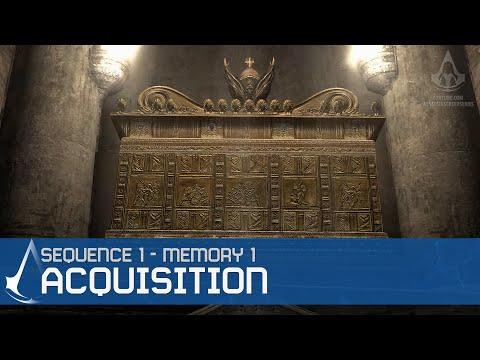 Assassin's Creed Walkthrough - Memory Block 1: Solomon's Temple - Memory: Acquisition [1/4]