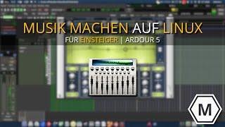 Musik machen auf Linux - für Ein- und Umsteiger | Ardour 5