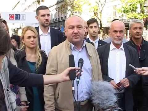 Nenad Popović: SNP je stranka iz naroda, za narod