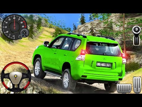 Luxury SUV Offroad Prado Drive - Jeep 4x4 Mountain Hill Climb Driver - Android GamePlay