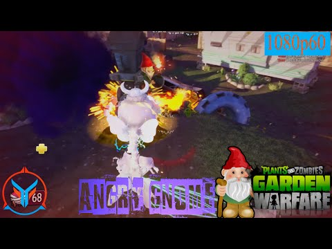 Plants Vs Zombies Garden Warfare Angry Gnome Power Chomper Youtube