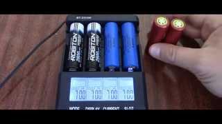 Тест акумулятора 18650 на реальну ємність
