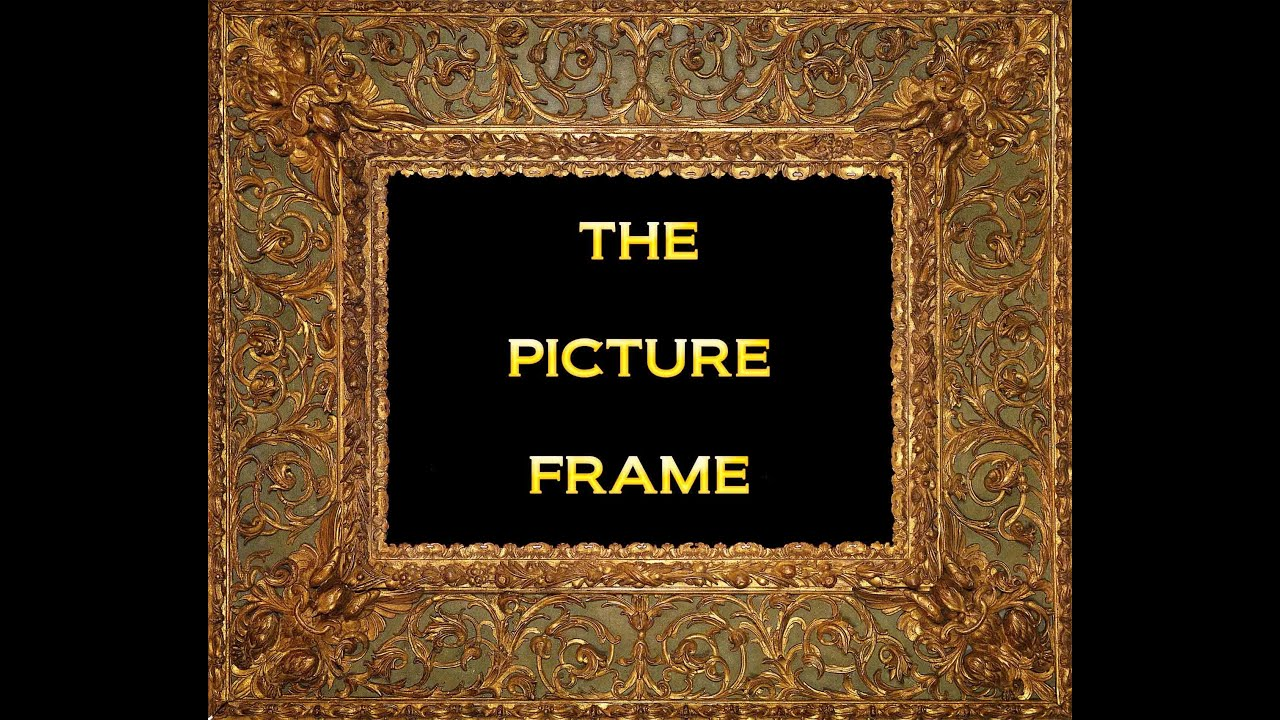 HISTORY OF THE PICTURE FRAME - PACITTI - YouTube