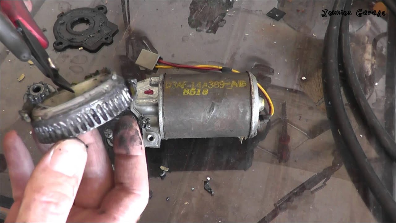 how to fix a ford power window motor for free