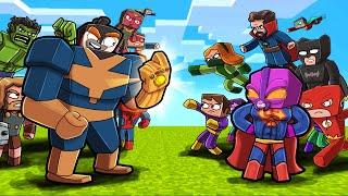 Strongest SUPERHERO Tournament! (Scramble Craft)