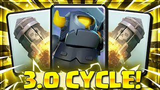CAN'T STOP THIS!! Mini Pekka + Rocket 3.0 CYCLE in Clash Royale!! 🏆