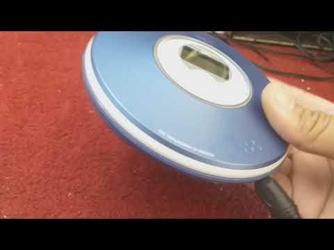ทดสอบเครื่องเล่น CD CDMP3 พกพามาจากญี่ปุ่น SONY D-NE319