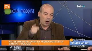 C's - Jordi Cañas en 'Catalunya Opina' de Badalona Tv  04/03/ 2015