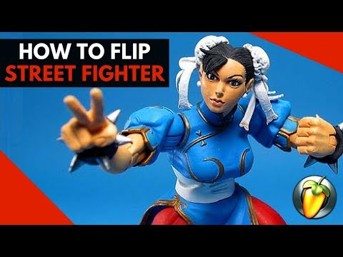 Street Fighter Trap Flip - Nicki Minaj Chun Li Using FL Studio x Scaler