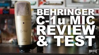 Behringer C-1u USB Microphone Review / Test