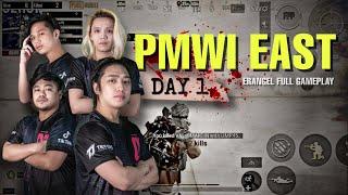 PMWI DAY 1 - BLACKLIST VS VALDUS   PUBG MOBILE