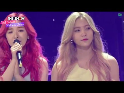 [RVNUnionTeam][Vietsub] 160322 Red Velvet @ The Show - One Of These Nights 1st Win