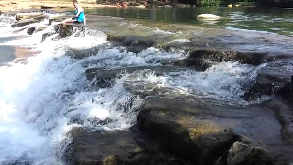 San Marcos - Rio Vista Falls - Tennis Courts and Pool.avi - YouTube