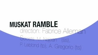 Muskat Ramble *Bing Band CRB* 13/14