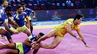 Pro Kabaddi 2018 Highlights   Tamil Thalaivas vs Telugu Titans   Hindi