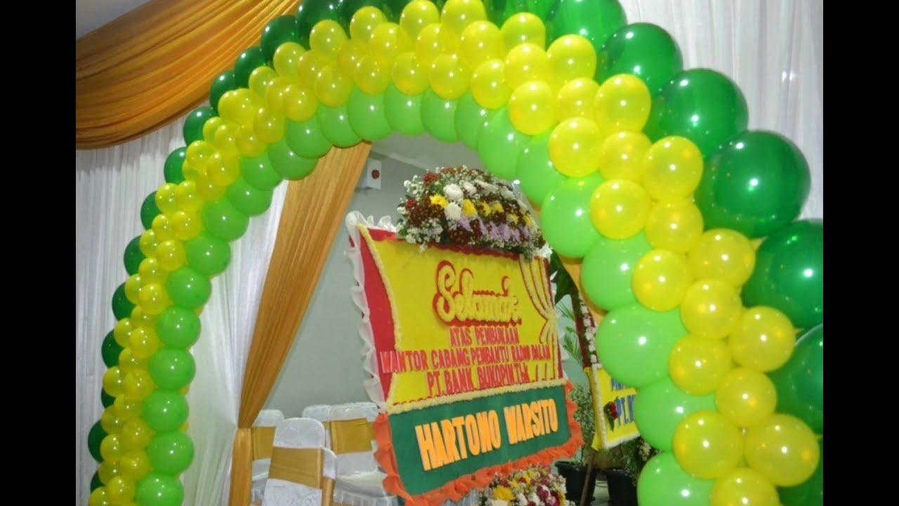 08118787641 ide Dekorasi Ulang Tahun Membuat Balon