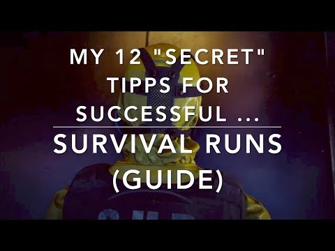 """The Division 1.8.1 - My 12 """"secret"""" TIPPS for SUCCESSFUL SURVIVAL RUNS - GUIDE"""