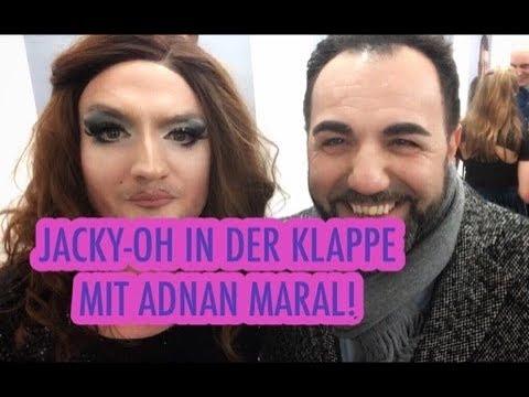 JackyOh in der Klappe mit TVStar Adnan Maral  Draußen mit Frau Weinhaus