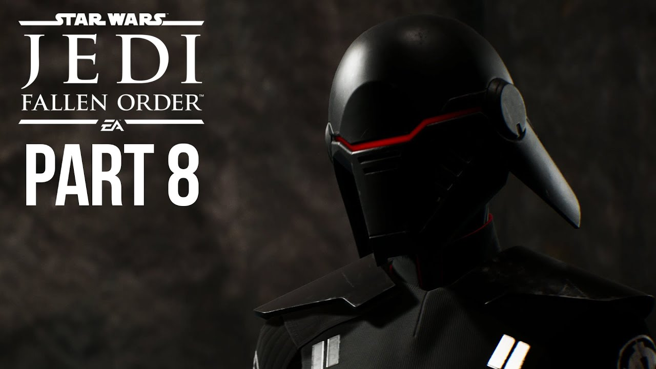 Star Wars Jedi Fallen Order Gameplay - Parte 8 - A SEGUNDA IRMÃ (Jogo Completo) + vídeo