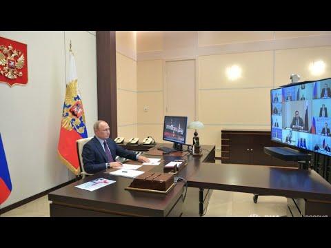 Обращение Путина в связи с ситуацией с коронавирусом