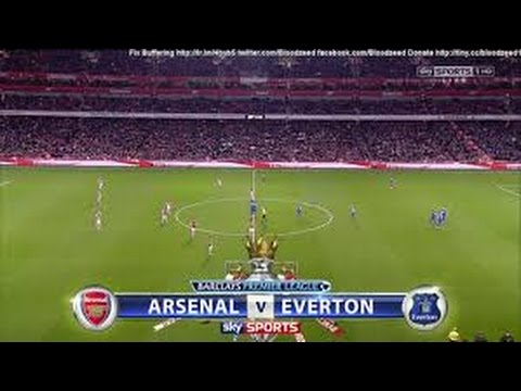 Great Goal Arsenal vs Everton 2-2  All Goals and Highlights 23 August 2014