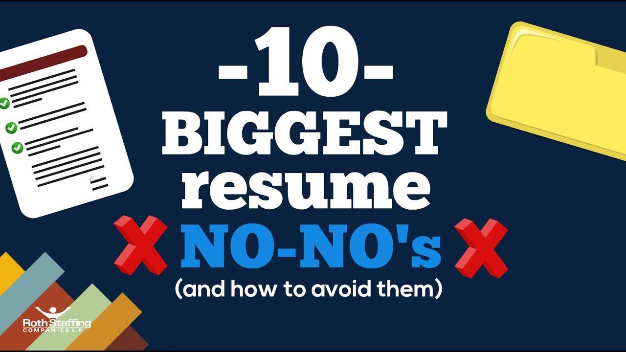 Resume No Nos Choppix