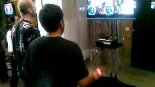 PlayStation Move In Action With DDR